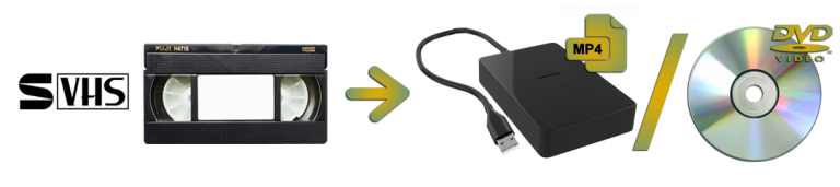 S-VHS To Digital or DVD Transfers